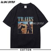 Men Travis Scott  Astroworld Hip Hop Fashion T-Shirt Summer Casual Hip Hop Short Sleeve Tshirt Streetwear Vintage Rapper T Shirt