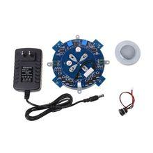 Магнитная левитационная машина ядро DIY Kit Магнитный левитационный модуль с светодиодный лампой 10166