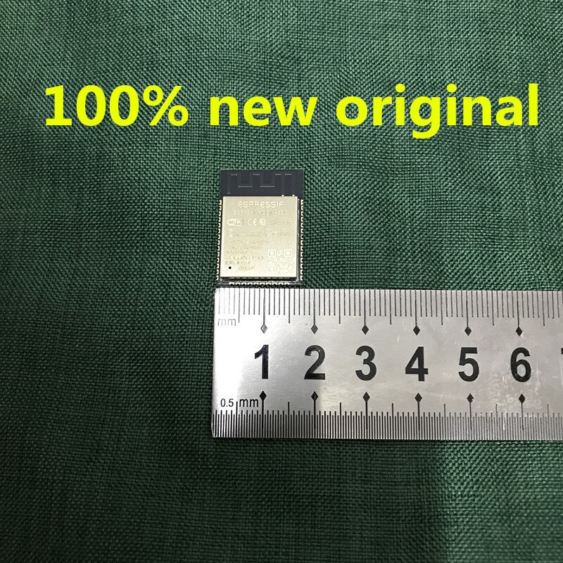5 unids/lote 100% nuevo original ESP32-WROOM-32 ESP32-WROOM-32D ESP-32S 32Mbits 4MB 100% buena calidad envío gratuito