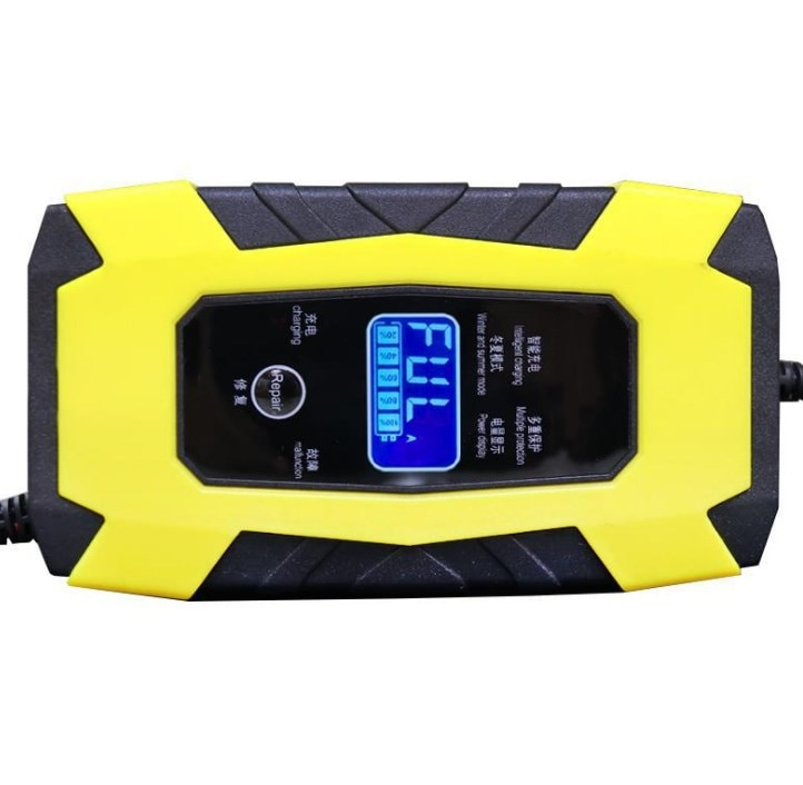 Cargador de batería de coche 12V 12V 6A pantalla táctil Reparación de...