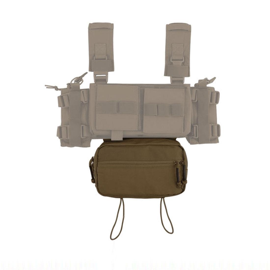 Krydex MK3 cintura bolsa JPC 6094 AVS CPC chaleco táctico militar al aire libre táctico accesorios Bolsa-camuflaje negro