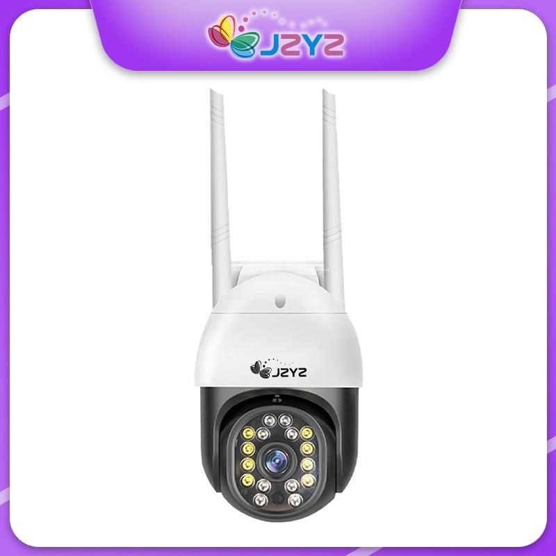 JZYZ CamHi 1.5 بوصة حجم صغير Full HD 4X تقريب رقمي كشف الإنسان كاميرا PTZ IP تتبع تلقائي للرؤية الليلية صوت ثنائي الاتجاه صوت عالي الحجم 8 LED + 8 خرزة مصباح ال...