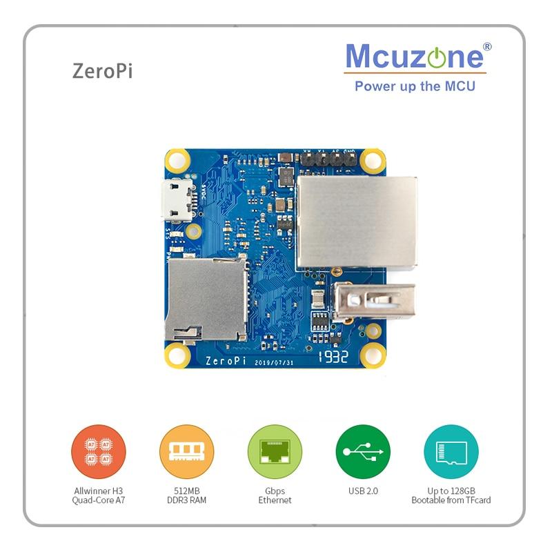 Zeropi 512Mb Ram Nanopi Gbps Ethernet Cortex A7 Development Board Allwinner Mini Linux Pi Nul Friendlyelec H3 Openwrt Ubuntu