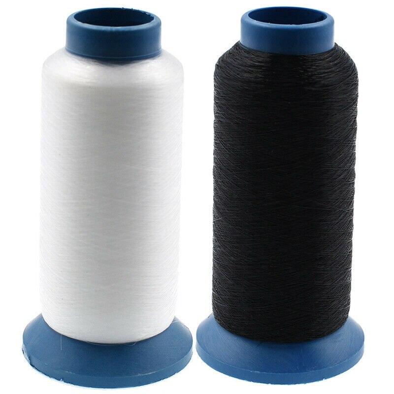2700 metros monofilamento de nailon transparente hilo Invisible hilo de coser para bolsas de ropa suministros de costura