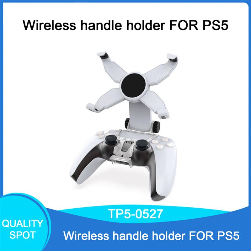 1Pc Gamepad Bracket Adjustable Rotatable Clip X-Shaped Phone Holder Stand Gamepad Bracket for PS5 Gamepad Bracket Accessories