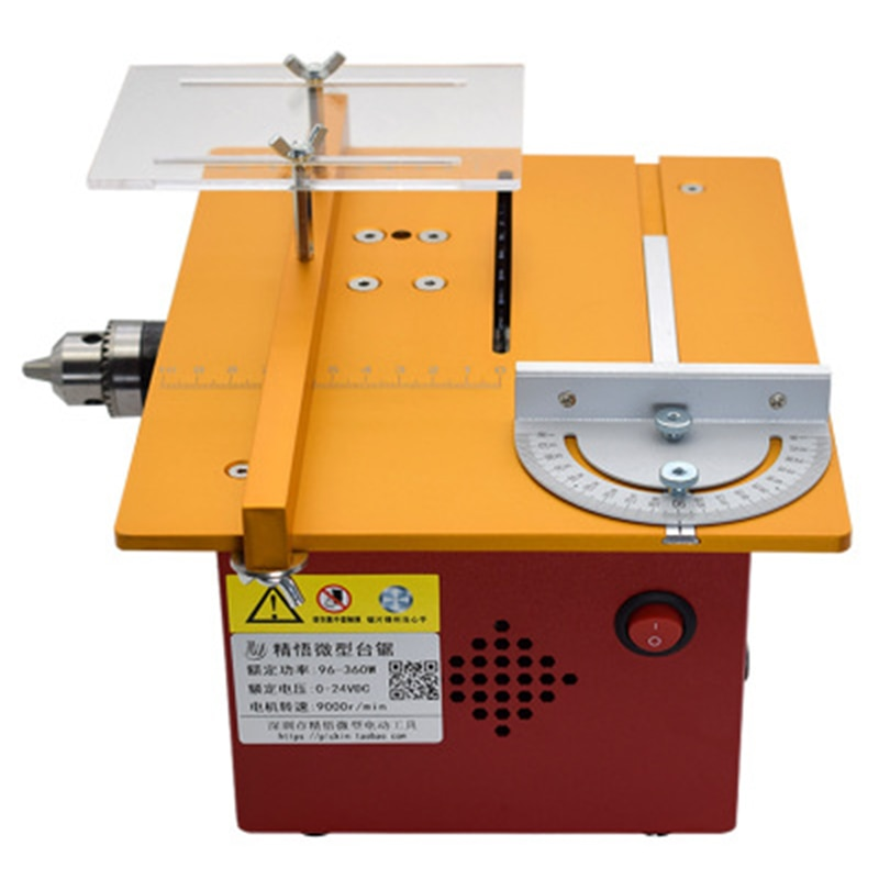 Small Table Saw Woodworking Tools Mini Table Saw Desktop Chainsaw DIY Small Cutting Woodworking Table Saw For Wood Equipment