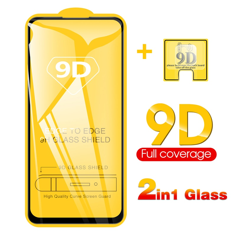 2-in-1 9D Camera + Tempered Glass For Xiaomi Redmi Note 9s Note 9 Pro Screen Protector Glass On Note 9 Pro Max protective Glass