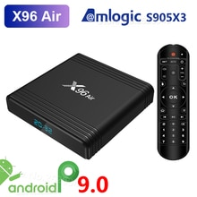 X96 Air Amlogic S905X3 Android 9.0 TV BOX 4GB RAM 32GB 64GB ROM lecteur multimédia wifi 2GB 16GB X96Air 4K 8K UHD décodeur intelligent