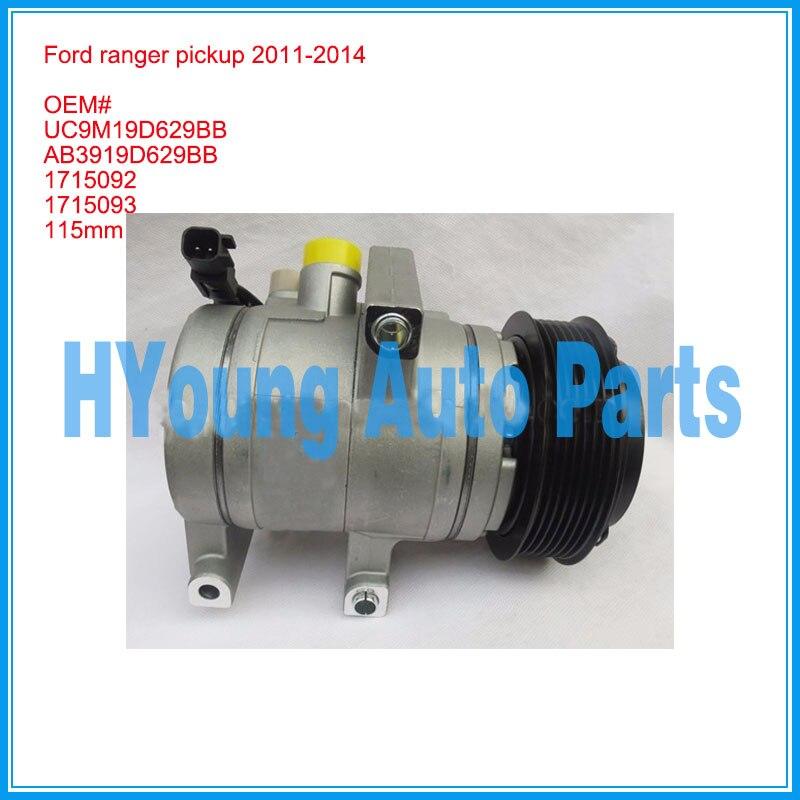Ford ranger-compresseur Auto   Ramassage 2011-2014 1715093 115mm 7pk HCC HS13N UC9M19D629BB