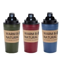 420ml portable coffee mugs leak proof non slip coffee mug travel coffee tea cup water bottle with lid for home office school