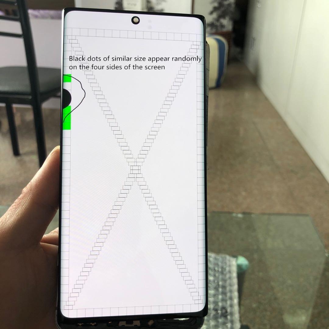 الأصلي نوت 10 + LCD لسامسونج غالاكسي نوت 10 زائد lcd نوت 10 زائد N975 N9750 N975F عرض شاشة تعمل باللمس محول الأرقام الجمعية