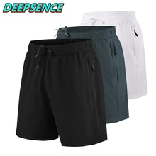 2021 New Summer Quick Drying Sports Shorts Men Casual Elasticity Breathable Loose Indoor Outdoor Fit