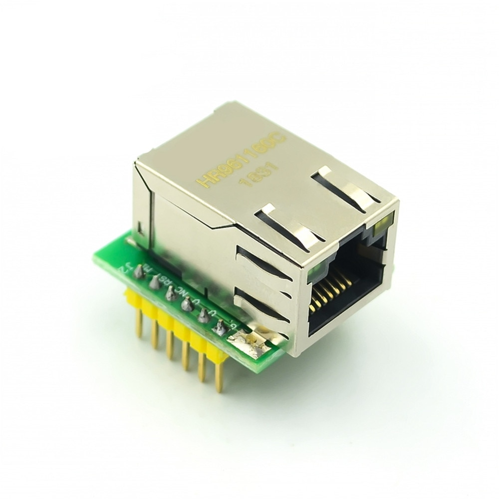 q118 rak439 low power tiny size high speed spi wifi module integrate tcp ip stack wireless iot module with external antenna Taidacent USR-ES1 W5500 Module WIZ850IO Ethernet Shield TCP IP Protocol Stack SPI to RJ45 Ethernet Adapter