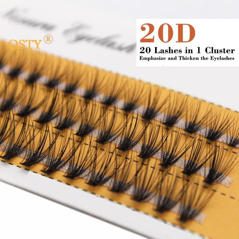 1 комплект 0,07 C 20D красивые женские накладные ресницы для девушек, Индивидуальные Накладные ресницы, норковые Черные Мягкие Накладные ресницы 8/10/12 мм