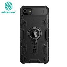 Nillkin – coque de protection anti-choc avec anneau et support coulissant pour iPhone 7/8, SE 2020, SE2, SE 2
