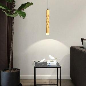 Natural Light Led Chandelier 5W Gold Modern Chandelier Lighting For Bedside light Dining room Kitchen Living room Hanging Lamps