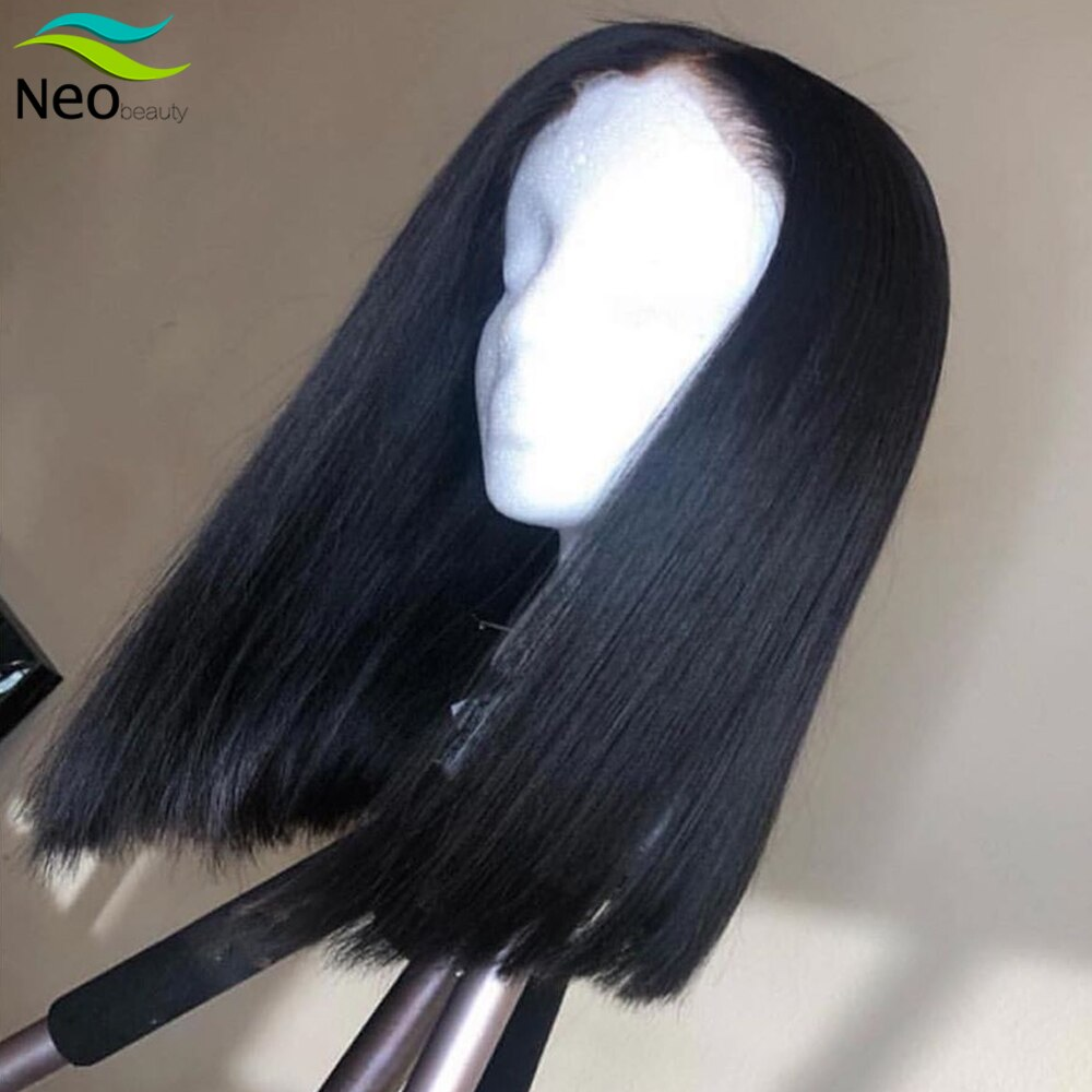8 10 12 14 16 Inches Bob Wig Lace Front Human Hair Wigs 13x4 Preplucked Lace Wig for Free Shipping Natural Remy Short Bob Wigs