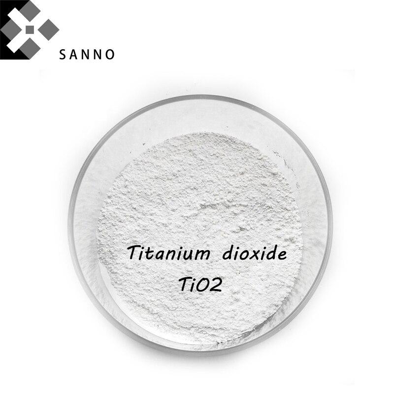 Titanium ثاني أكسيد مسحوق 20 نانو الأبيض تنصهر titanium مسحوق TiO2 استخدام للدهان و lnks