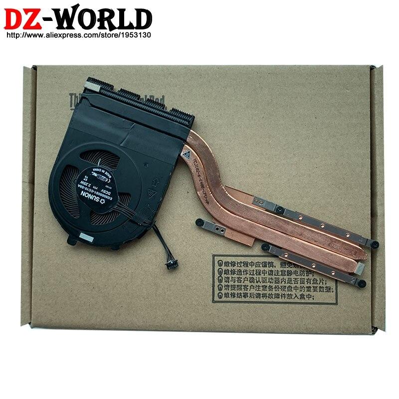 جديد الأصلي SWG منفصلة الرسومات المبرد وحدة المعالجة المركزية وحدة معالجة الرسومات برودة مروحة لينوفو ثينك باد E490 E590 محمول 02DL822 02DL823 AT1AH001VV0