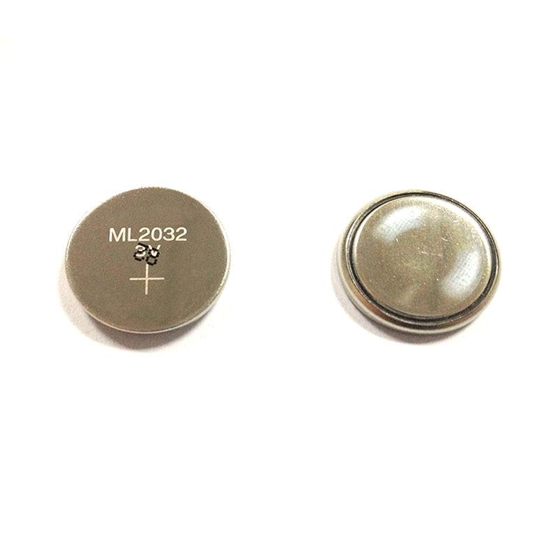 5 unids/lote 3V batería de reserva recargable ML 2032 ML2032 Botón de pila de moneda CMOS BIOS RTC