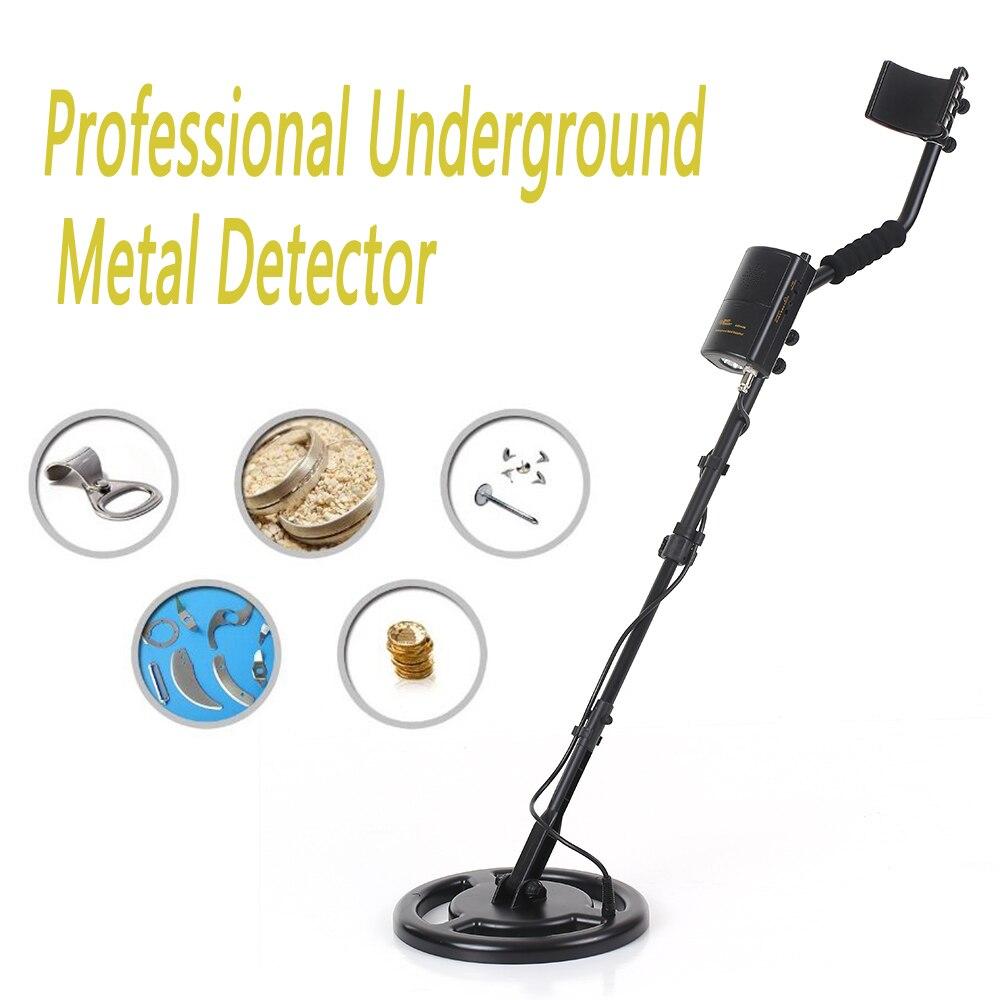 SENSOR inteligente profesional subterránea Detector de metales de alta sensibilidad suelo pepita de oro excavador tesoro cazador