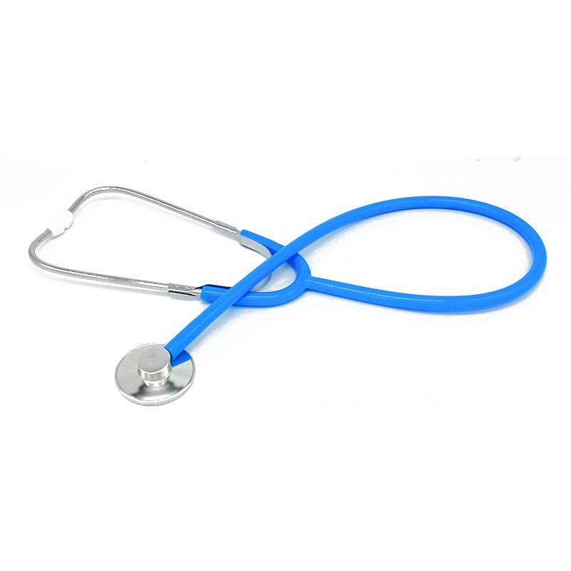 Stethoscope Aid Single Headed Stethoscope Portable Medical Auscultation Device Equipment Tool Promotion