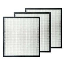 3 unidades de filtros HEPA para purificador de aire Sharp FZ-F30HFE blanco 310X280mm