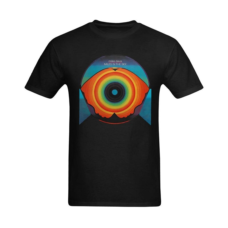 Camiseta para hombre, definitiva, yo mismo, Miles en el cielo, Miles Davis, color negro, diseño de moda, camisetas