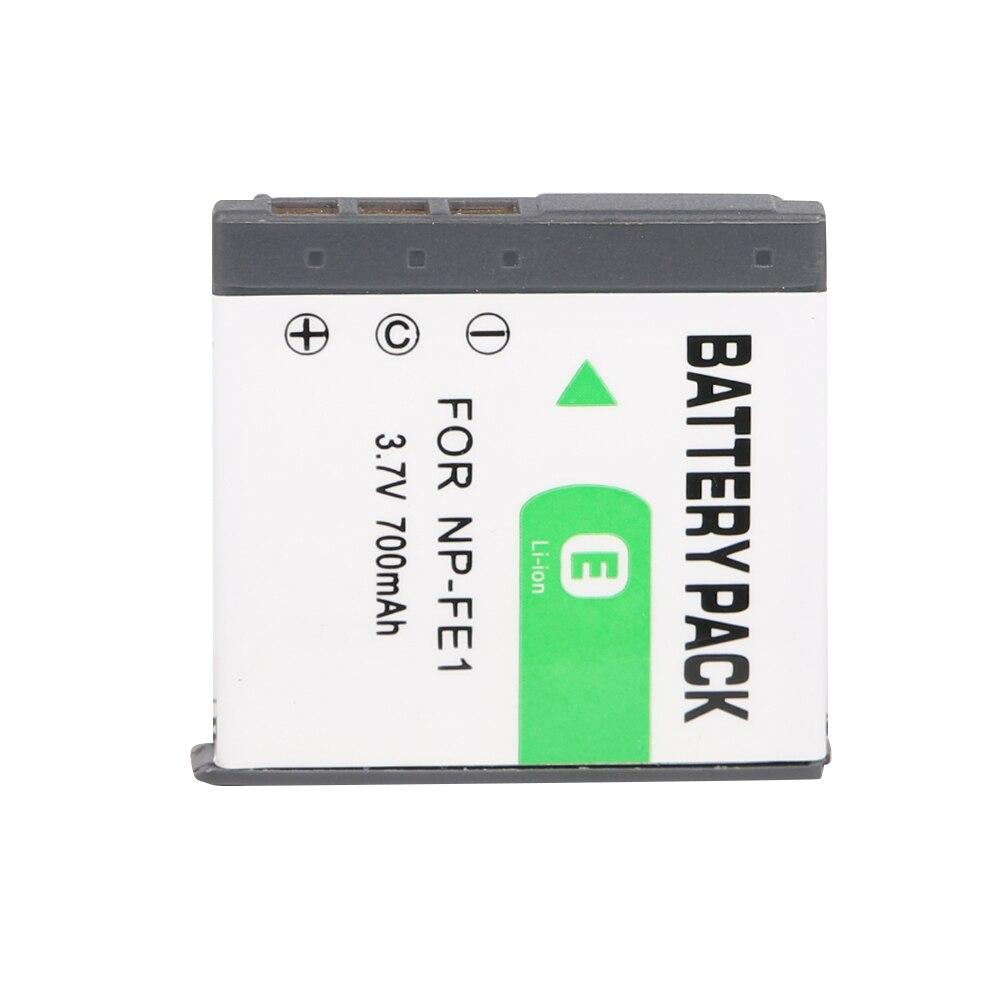 OHD Original de alta capacidad de batería de la Cámara NP-FE1 NP FE1 para SONY Cyber-shot DSC-T7 DSC-P2 DSC-P3 DSC-P5 DSC-P9 DSC-P7 DSC-P10