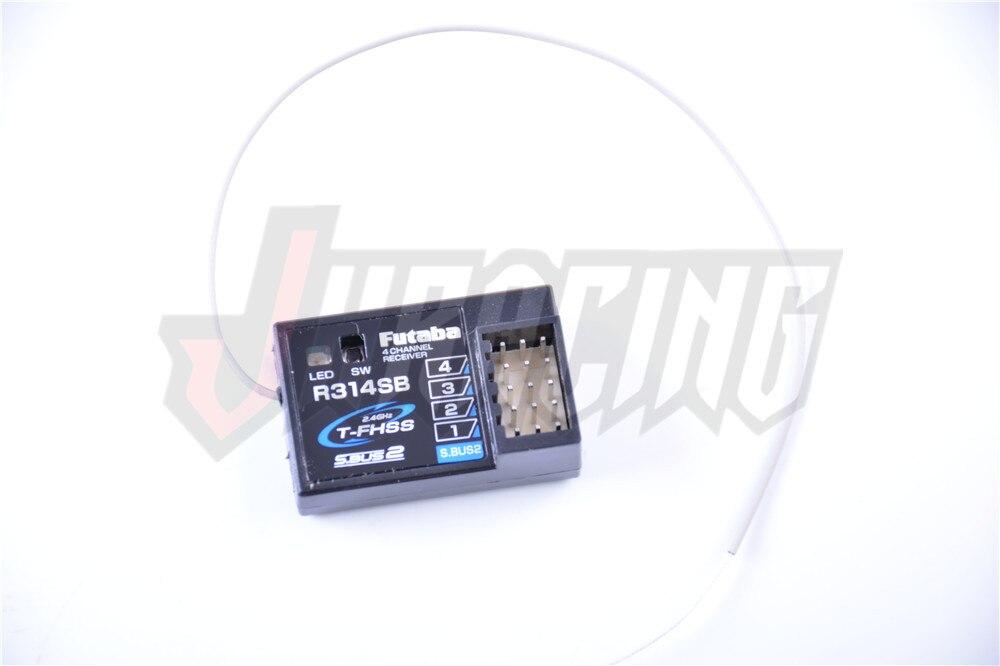 Receptor Futaba R314SB, para transmisor de mando a distancia Futaba