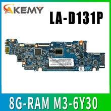 Carte mère dordinateur portable LA-D131P pour For Lenovo YOGA 700-11ISK carte mère dorigine 8G-RAM M3-6Y30