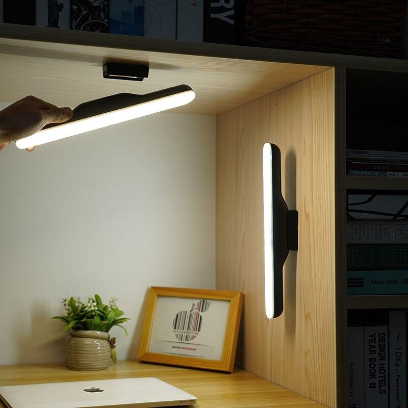 Креативные заряжаемые настольные лампы, светодиодсветодиодный лампы для защиты глаз в студенческом общежитии, настольные ночники для спал...