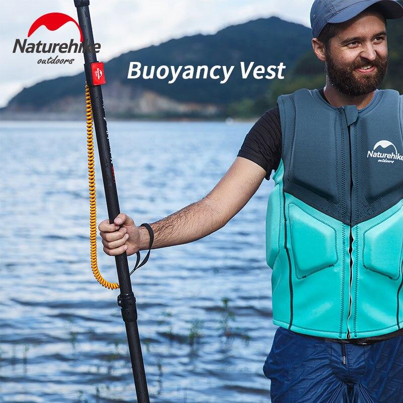 Naturehike Buoyancy Vest NBR Foam Floating Vest Floating Jacket Quick Drying Adult Life Vest Fishing Drift Surfing Swimming Boat