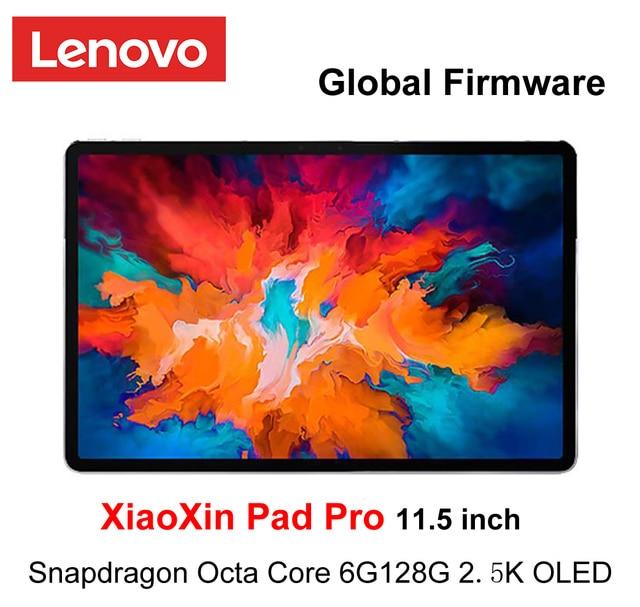 Global Ffirmware Lenovo XiaoXin Pad Pro Snapdragon Octa Core 6GB RAM 128GB 11.5 inch 2.5K OLED Scree