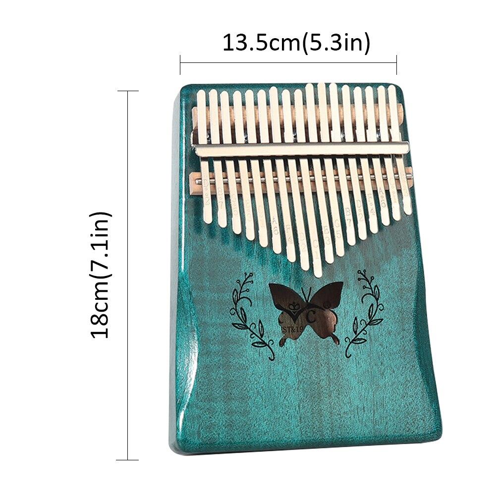 Kalimba 17 Key Portable Thumb Finger Piano Mahogany Musical Instruments Calimba Mbira Gift For Child Adult Beginner Kalimba enlarge