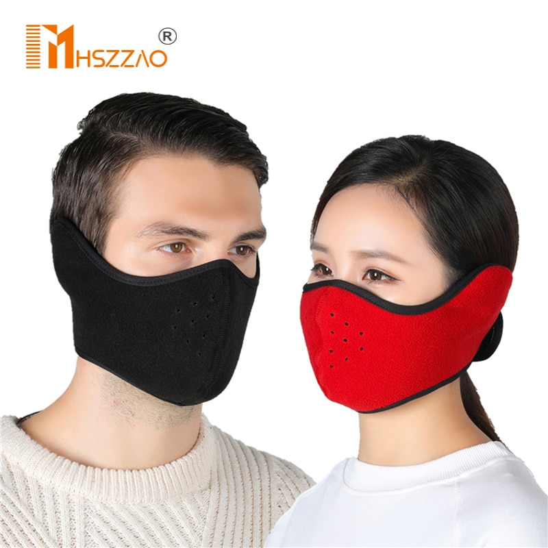 Winter Outdoor Ski Masks Cycling Riding Warm Riding Masks Headgear Windproof Masks Ear Protection Masks