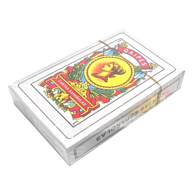 50-карт-палуба-испанские-игральные-карты-семья-вечерние-настольные-игры-Волшебные-покер-карты