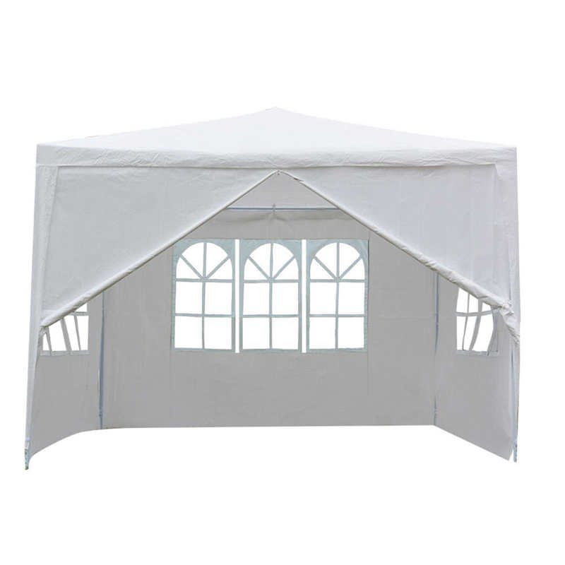 3 x 3m Wedding Tent Outdoor Canopy Wedding Party Tent Heavy Duty Party Pavilion for outdoor sports event festival market party