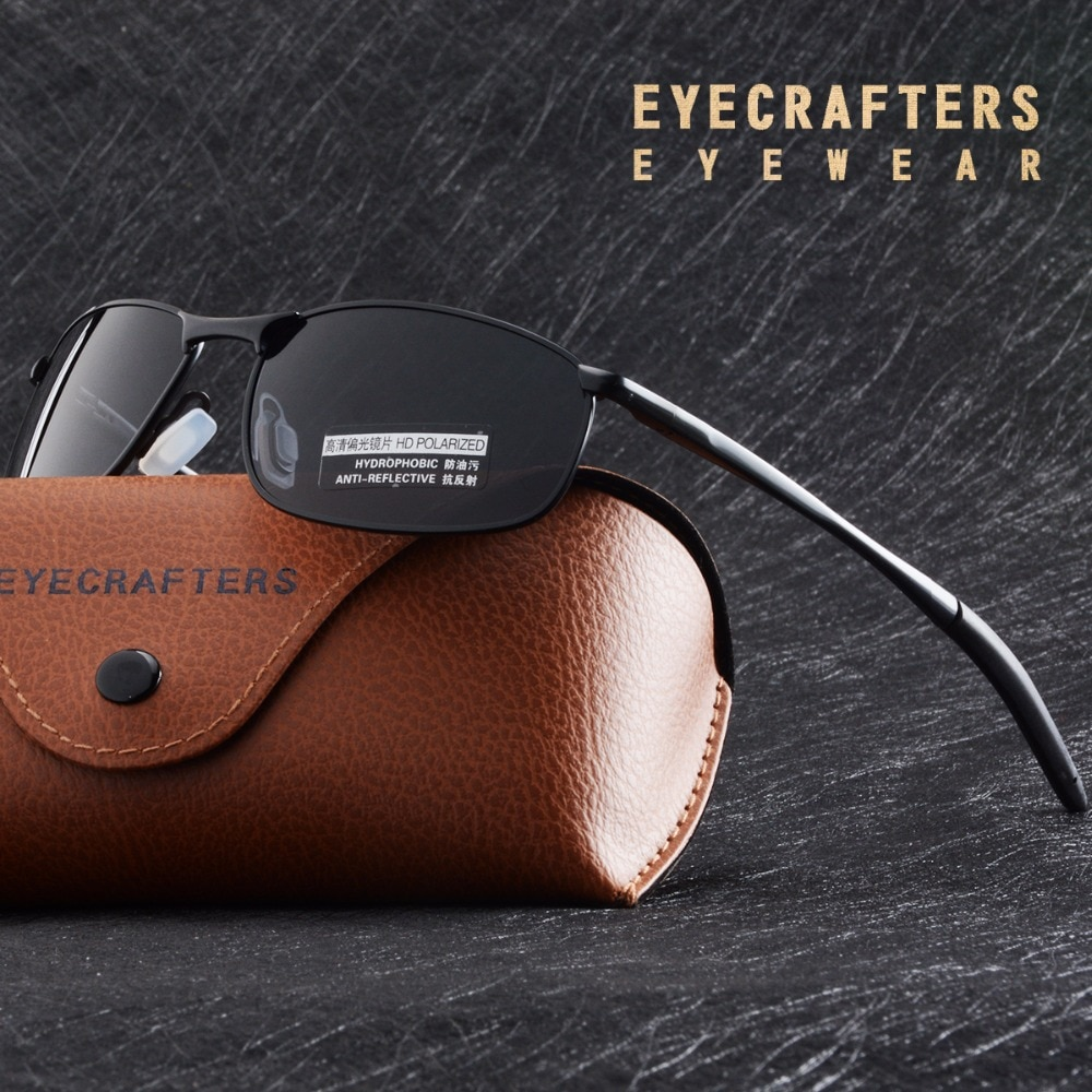 2020 Men's Polarized Sunglasses Metal Frame Night Vision Car Driving Sun Glasses 100% UV400 Polarise