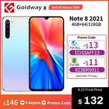 Global Version Xiaomi Redmi Note 8 (2021) 4GB RAM 64GB ROM Mobile Phone Helio G85 Octa Core 6.3