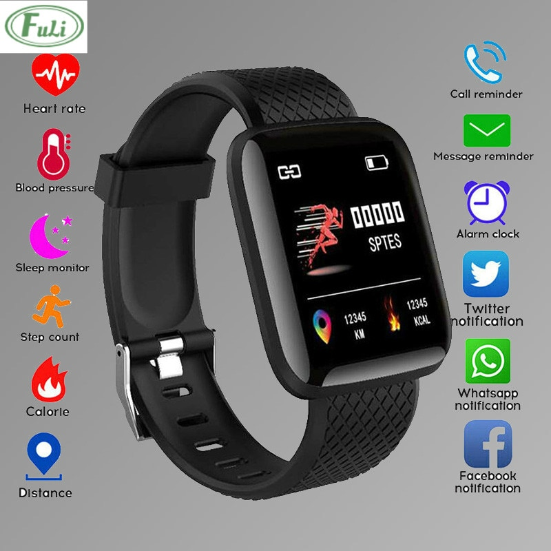 Fashion Smart Electronic Watch For Men Women Heart Rate Wristband Sports Watches Blood Pressure Band