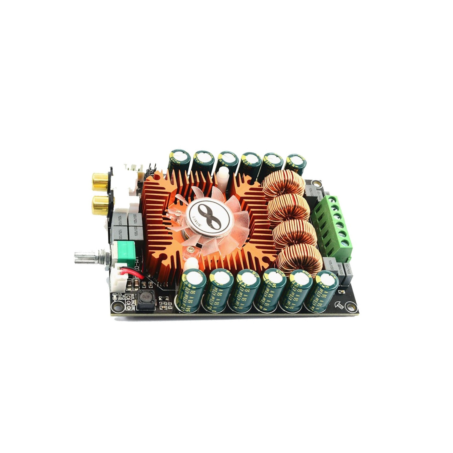 Placa amplificadora TDA7498E 24V DC 160W * 2 módulo de Amplificador de...