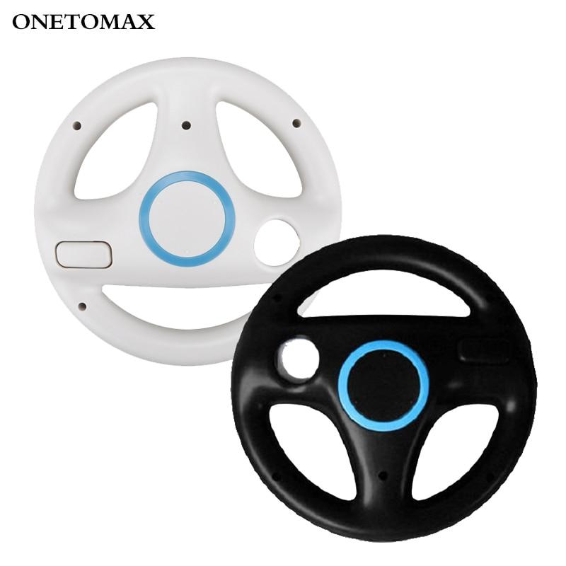 2pcs/set Racing Wheel Games Steering Wheel for Nintend Wii Remote Game Controller for Mario Kart Racing Games Controller недорого