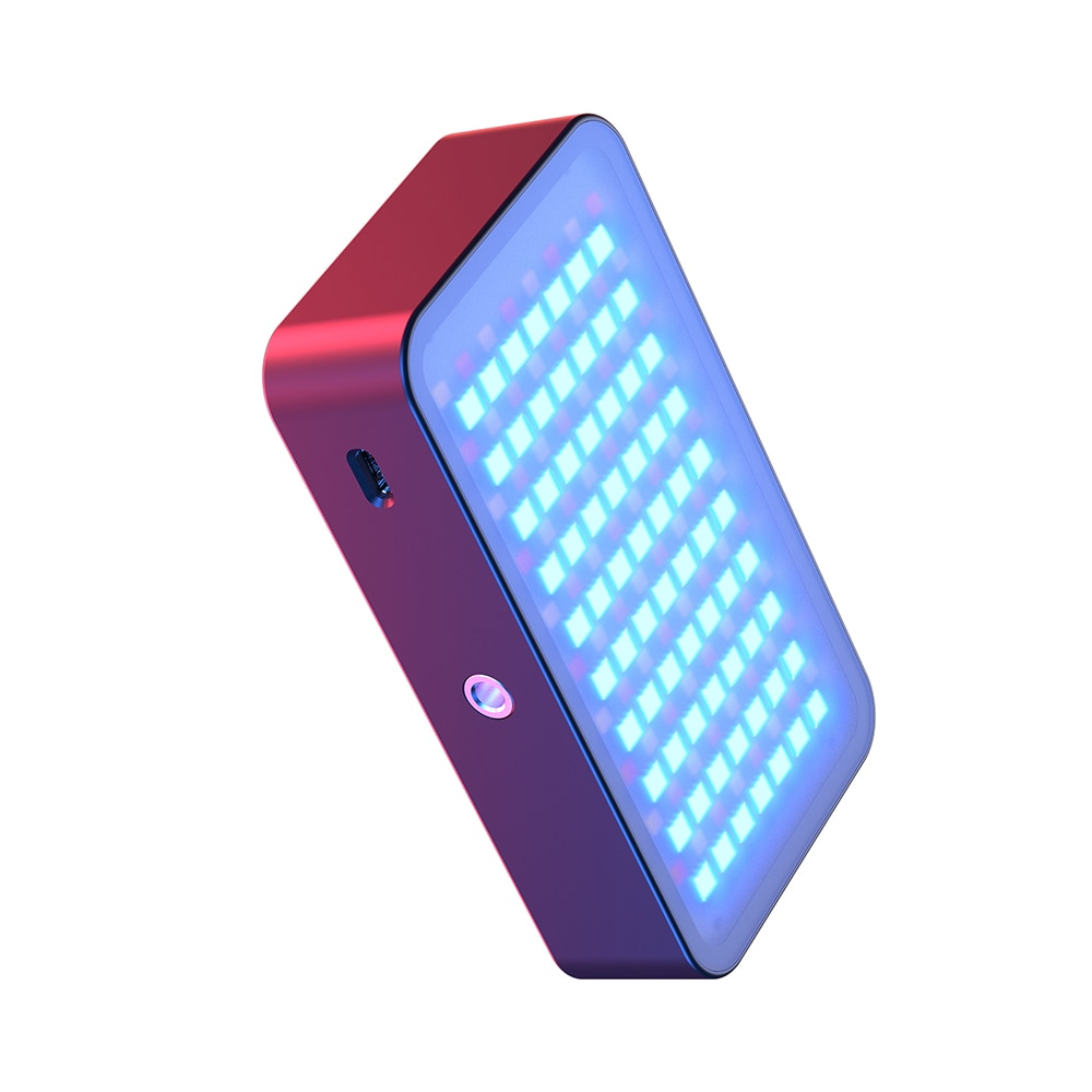 12W RGB Handheld Fill Light Rechargable Colorful LED Light For Photography 2500K-8500K enlarge