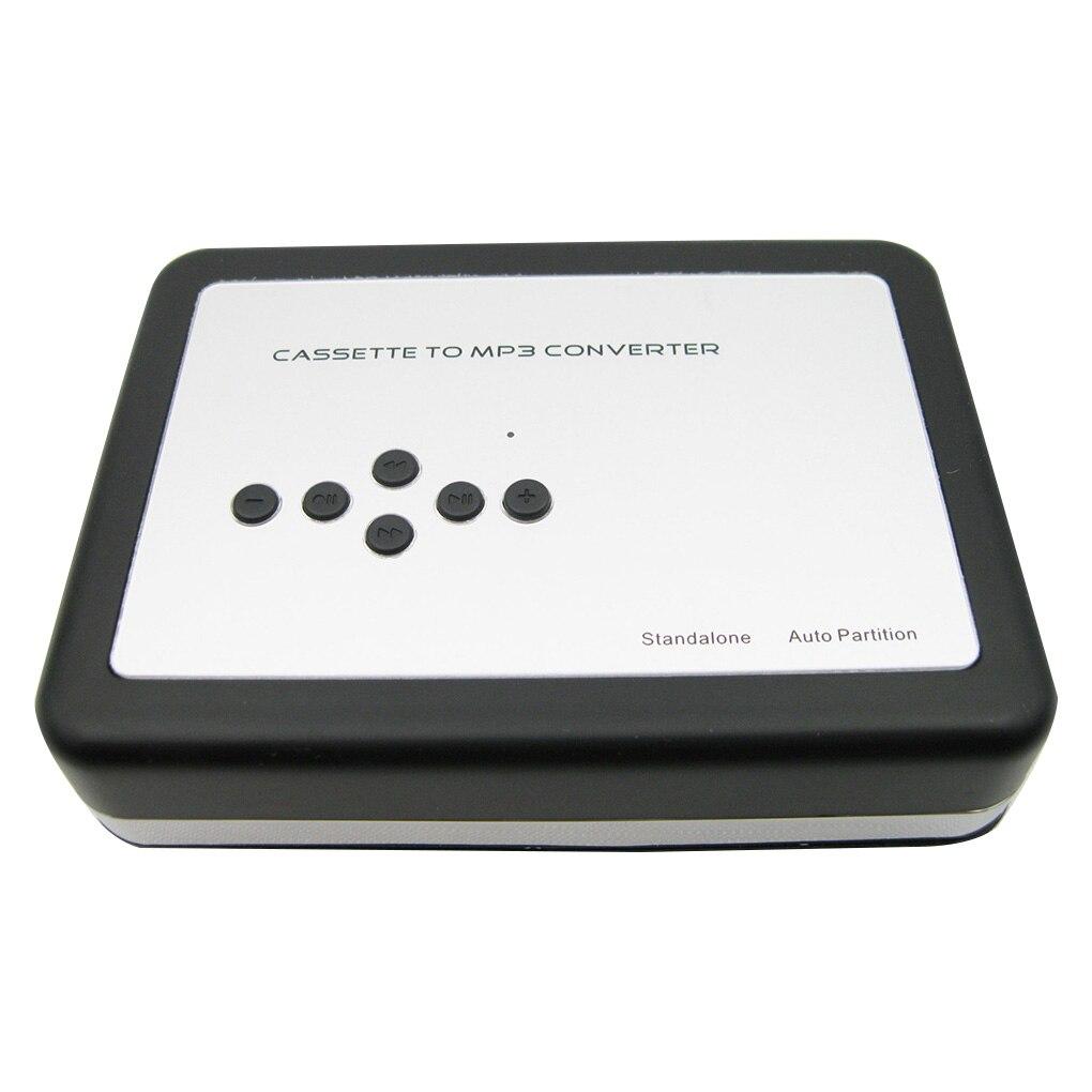 REPRODUCTOR DE CASETE portátil, cinta de Cassette independiente al convertidor de MP3, grabador de cintas Walkman vía tarjeta TF con auriculares