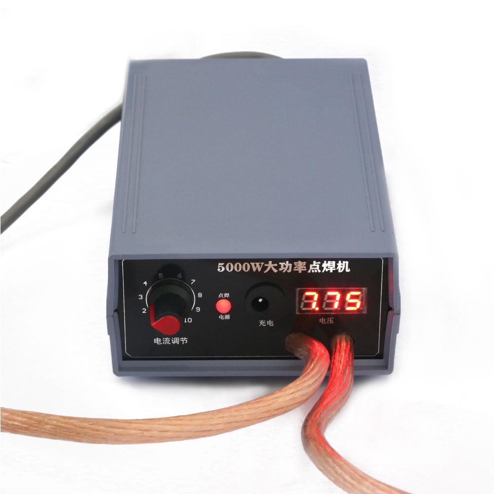 Mini Handheld Portable Battery Spot Welder Kit 5000W High Power Spot Welder Quick Release Adjustable Spot Welding Machine