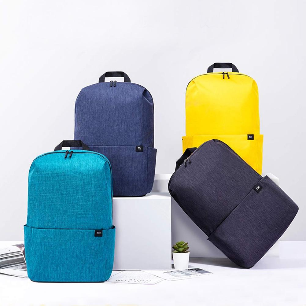Original Xiaomi Backpack 20L Mi Small Backpack Men Women Sports Bag 15.6 Inch Laptop Backpack Casual