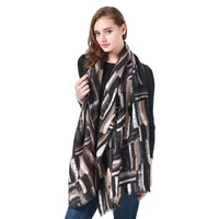 autumn and winter new fashion ladies scarf imitation cashmere printed scarf outdoor warmth 180x70cm long shawl