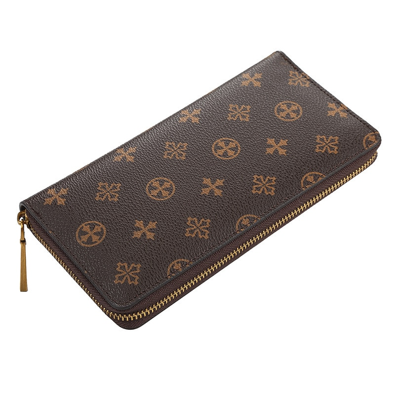 Classic Branded Women Long Wallets With Logo Designer Zipper Ladies Clutch Bags Web Prints Wallet Hi