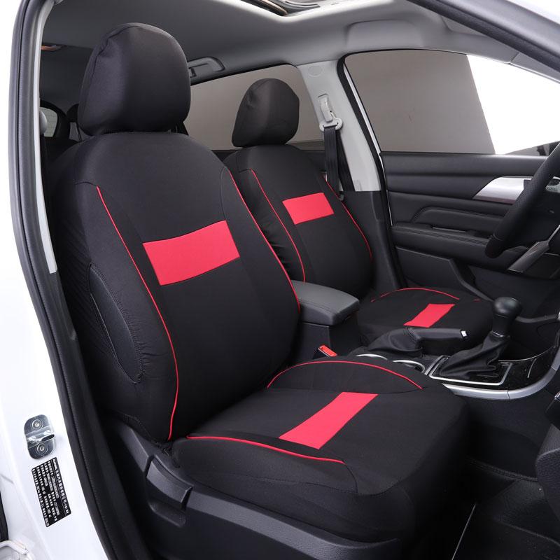 Cubierta de asiento de coche fundas de asientos de coche para vw volkswagen Beetle Caddy cc fusca gol golf 4 5gti golf 6 r golf 7 gti mk7 golf gti mk7